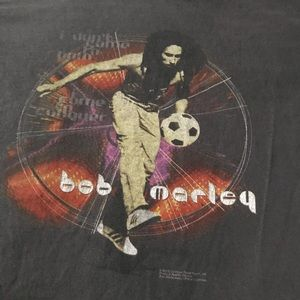 Vintage Tops - Vintage Bob Marley Tee